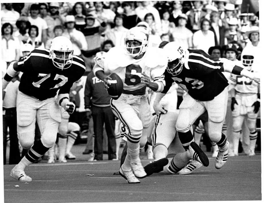 Randy McEachern began the 1977 season as the Longhorns No. 4 quarterback, but was thrust into the starting spot because of injuries. Photo: Courtesy University Of Texas