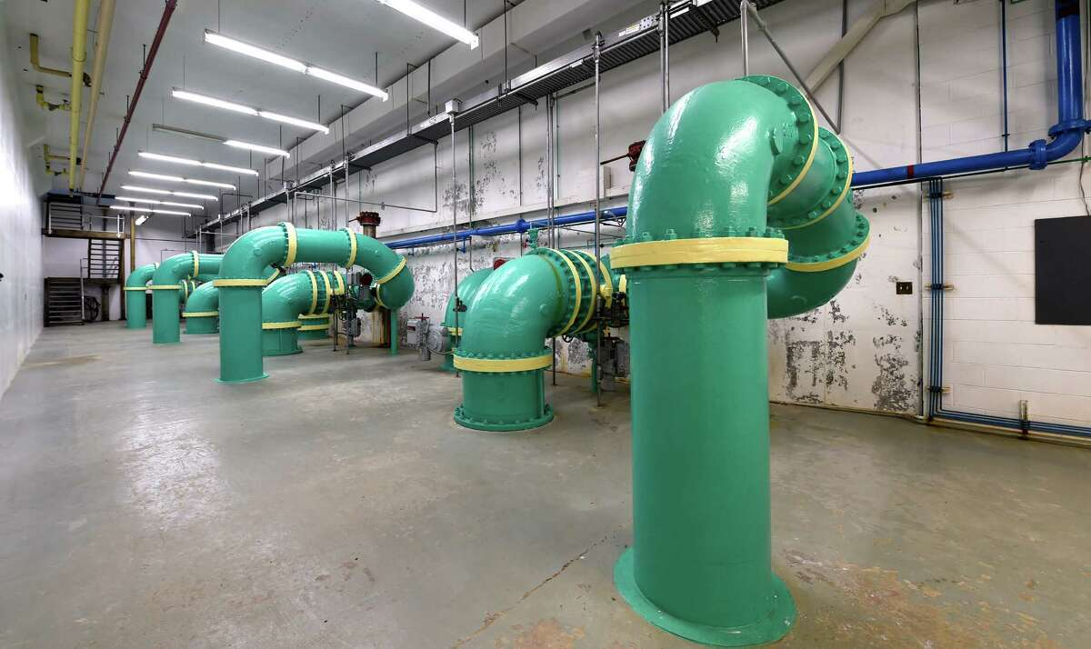The interior of the City of Troy Water plant Wednesday morning Sept. 23, 2015 in Troy, N.Y. (Skip Dickstein/Times Union)