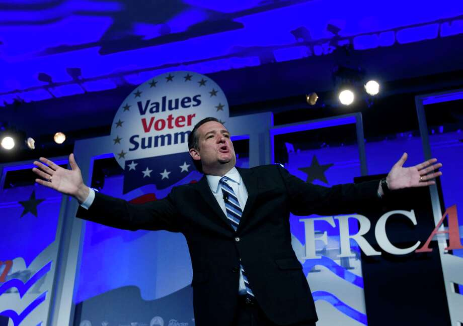 Presidential candidate Sen. Ted Cruz is rebelling against his fellow GOP senators' efforts to pass a spending bill with money for Planned Parenthood. Democrats have blocked a bill to strip that cash from the group. Photo: Jose Luis Magana, FRE / FR159526 AP