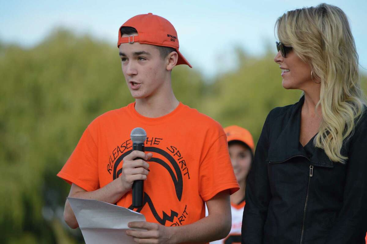 View photos of Megyn Kelly's recent return to her former high school . Were you seen at the Bethlehem vs Schenectady football game in Bethlehem on Saturday, sept. 26, 2015?