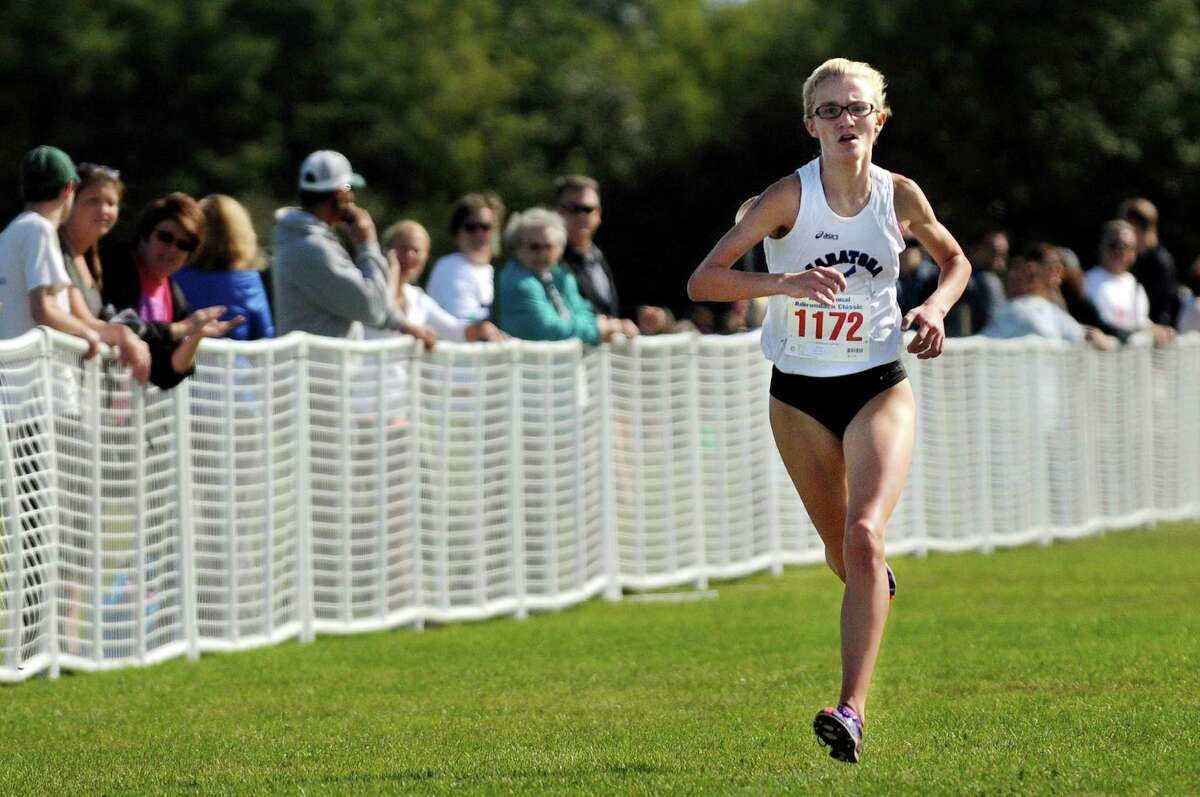 The following high school athletes made the Times Union's honor roll for the week . Cross Country: Saratoga Springs' Kelsey Chmiel won the Division I race at the Queensbury Invitational in 17:27.11. (Cindy Schultz / Times Union)