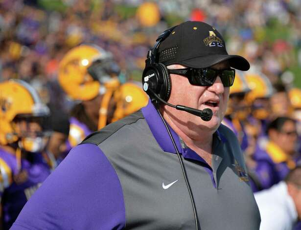 UAlbany head coach Greg Gattuso on the side lines during Saturday's game against Duquesne at Bob Ford Field Sept. 26, 2015 in Albany, NY.  (John Carl D'Annibale / Times Union) Photo: John Carl D'Annibale / 00033508A