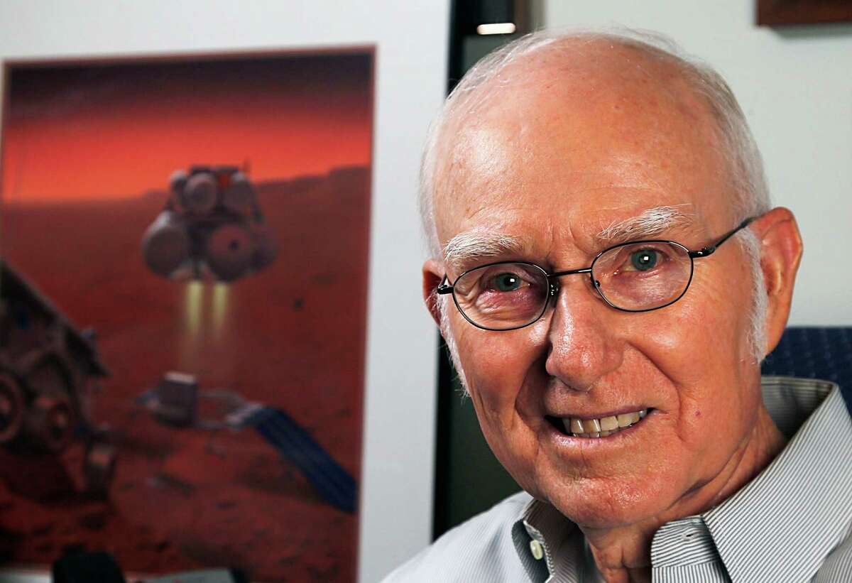 We are writing a long Sunday on the challenge of sending humans to Mars, likely to run September 27th, timed the the release of The Martian. A central figure in the story is Hum Mandell, who came to work for NASA in 1962 and set to work on a Mars plan at that time Tuesday, Sept. 15, 2015, in Austin.
