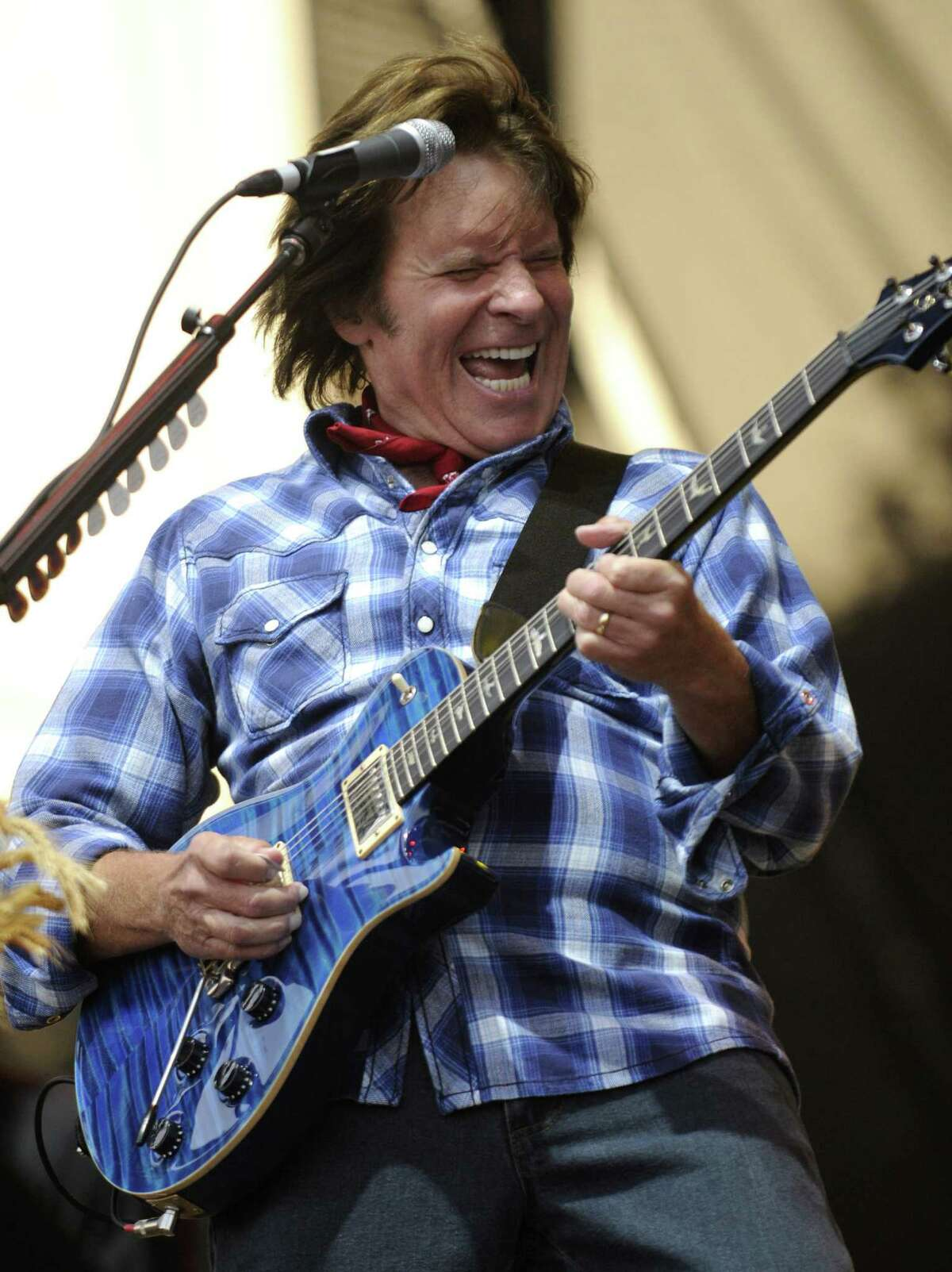 John Fogerty performs at Zilker Park during the 2008 Austin City Limits Festival on September 27, 2008 in Austin, Texas. (Photo by Kevin Mazur/WireImage)