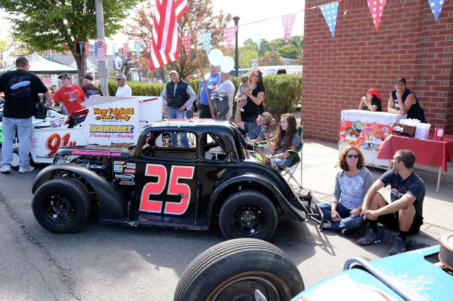 George Korres, the owner of Nico's Pizza in Danbury, hosted a Karing for Kelly car show on Sunday, September 27, 2015. The proceeds will go to Joe Archiere Jr. who has a rare autoimmune disease that only six people in the world have been diagnosed in the world. The car show was held on Main st. in Danbury. Photo: Lisa Weir / For The / The News-Times Freelance