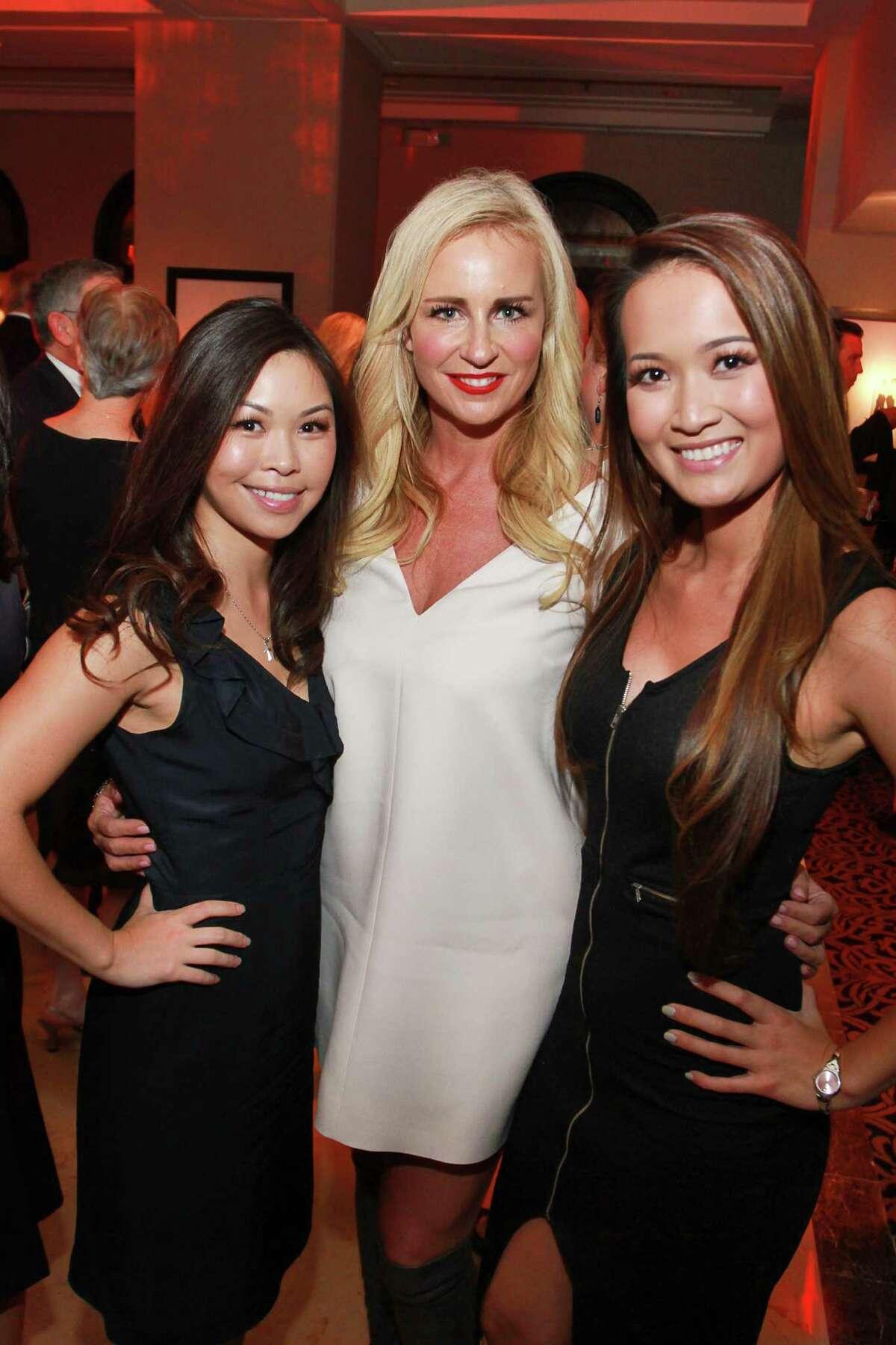 Kim Doan, from left, Lori Ramirez and Ann Vu