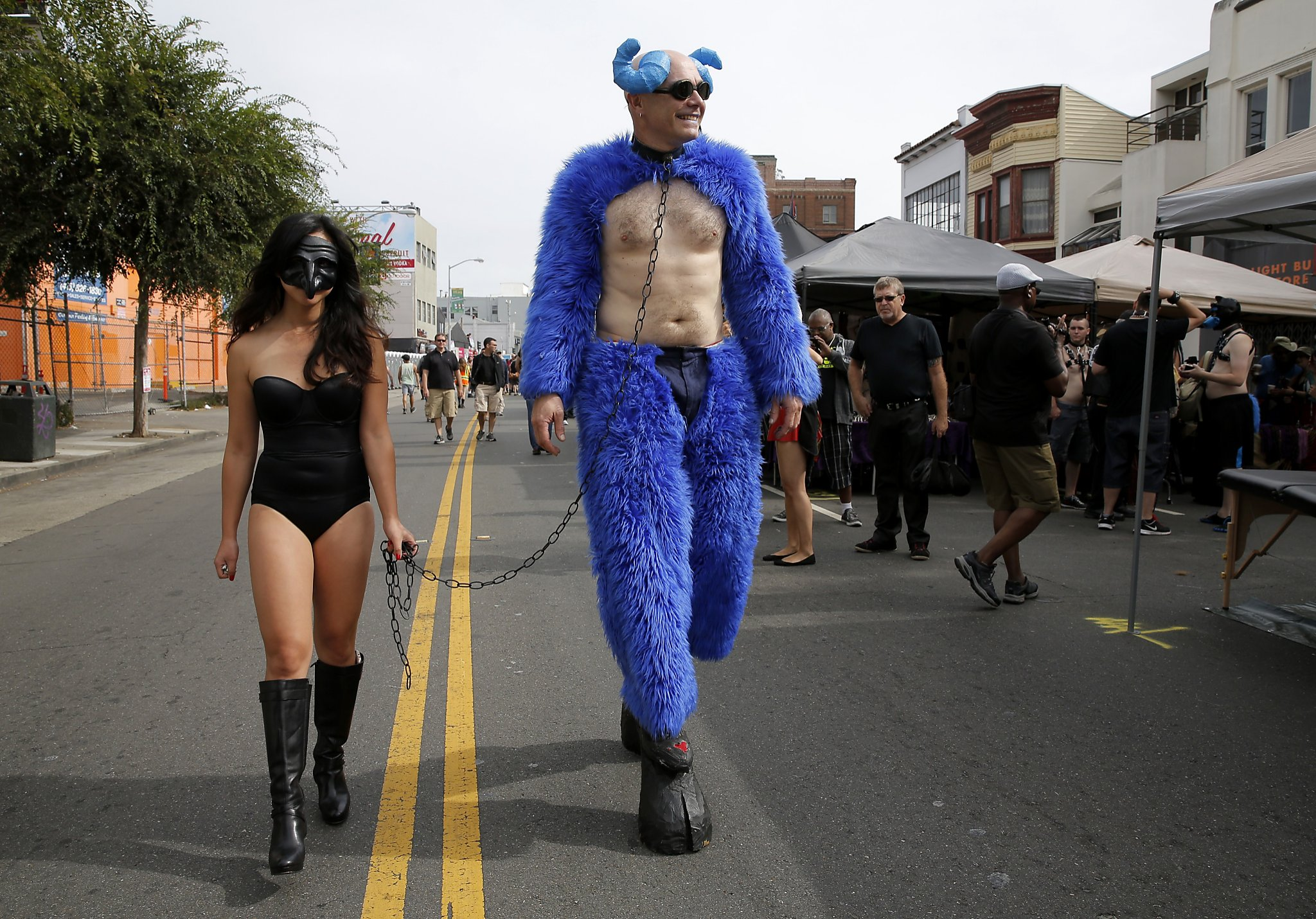 Is That A Guy In A Diaper At Folsom Street Fair Of Course