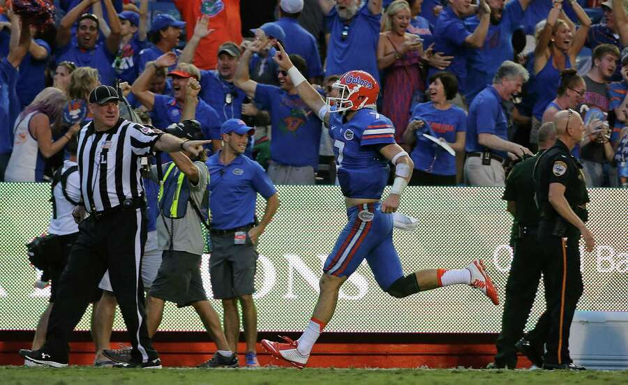FloridaAP poll ranking: 25Coaches poll ranking: 23Record: 4-0Previous rankings: NR (AP) NR (coaches) Photo: Mike Ehrmann, Getty Images / 2015 Getty Images