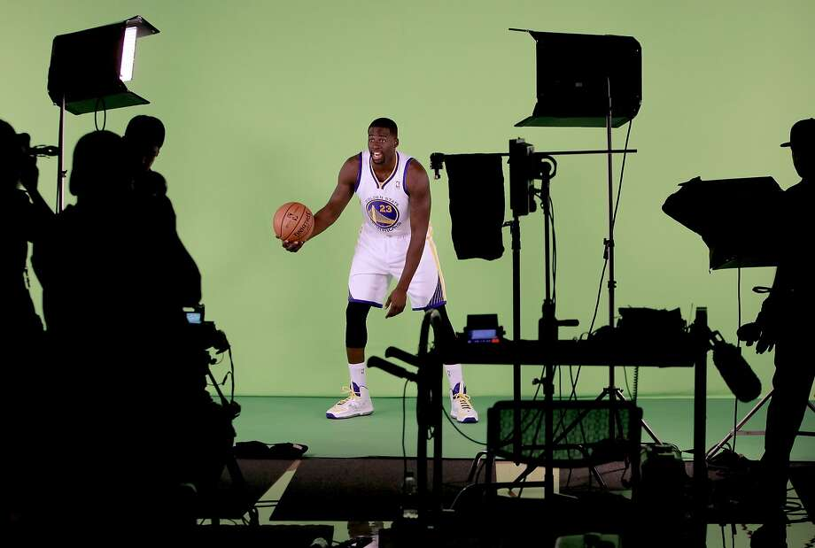 Draymond Green, (23) is filmed as the Golden State Warriors hold a media day at their practice facility in downtown Oakland, Calif. on Friday September 27, 2013. Photo: Michael Macor, The Chronicle