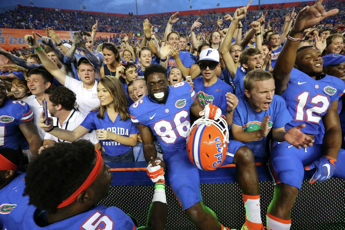 8.Florida (9-1) Remaining games: vs. Florida Atlantic (Saturday), vs. No. 14 Florida State (Nov. 28); SEC Championship Game (Dec. 5) You have to respect a one-loss SEC team, right? Wrong. Playing in the SEC East is like squatting in a vacant home in River Oaks. Sure, technically, I guess you live in River Oaks, but you're also living in an abandoned house. You don't get any extra credit for that. So, the Gators are the biggest bully in a bully-less SEC East. They'll get to play in the SEC Championship Game, likely against Alabama. If the same team that beat Vanderbilt 9-7 a few weeks ago shows up against Alabama, the entire state of Florida might have to stop playing football for a while.