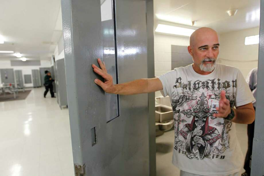 Billy Clayton Center resident James Adkins, in the program five years, said it doesn't feel like treatment. Photo: Steve Gonzales, Staff / © 2015 Houston Chronicle