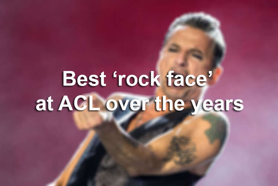 Best cases of 'rock face' at Austin City Limits fest over the years
