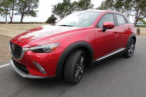 2016 Mazda CX-3 — a small but peppy four-door crossover. - Photo