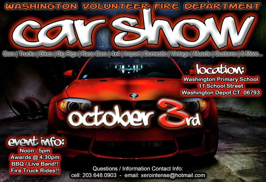 WVFD Car Show Oct. 3 from Noon to 5 p.m. Photo: / Contributed Photo