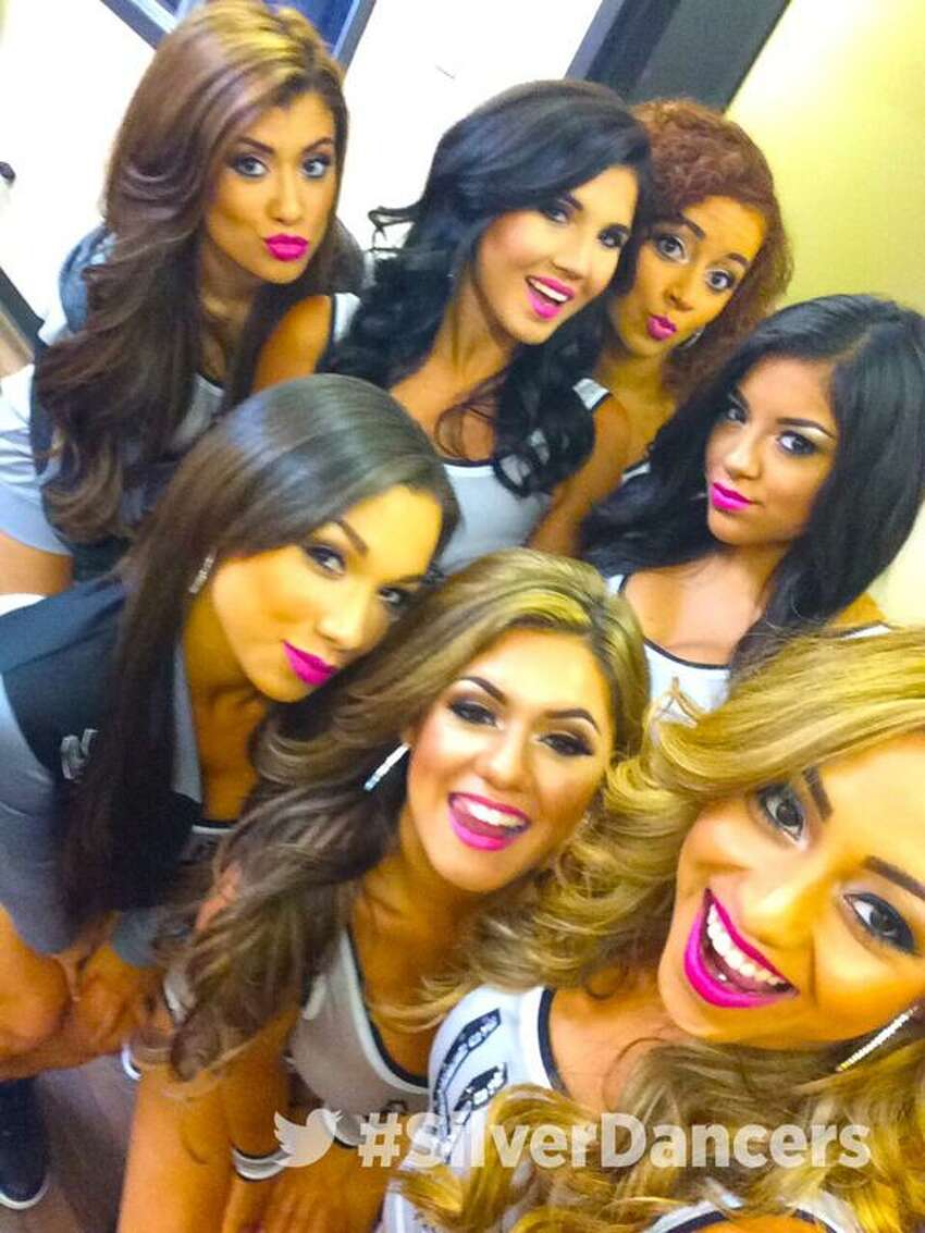 Twitter accounts for the Spurs, the dance squad and some of the Silver Dancers themselves captured behind-the-scenes moments fans wish they could be a fly on the fall to witness.