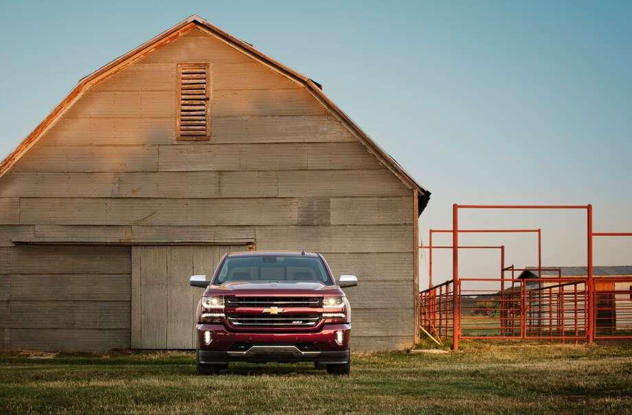The new 2016 Chevrolet Silverado series.
