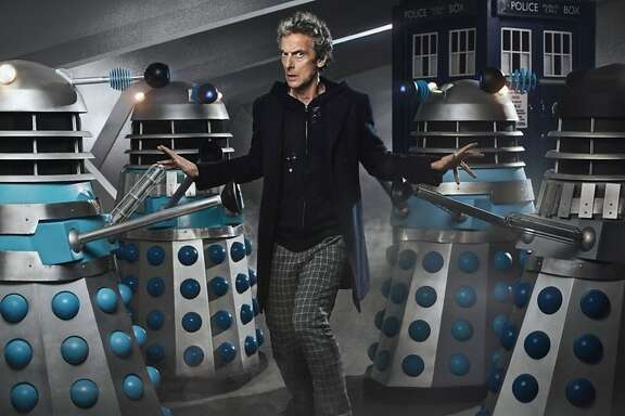 """Daleks and The Doctor (Peter Capaldi): From """"The Witch's Familiar."""""""