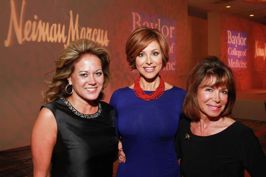 Gigi Gomel, from left, Dominique Sachse and Audrey Toll  Photo: Gary Fountain, For The Chronicle / Copyright 2015 by Gary Fountain