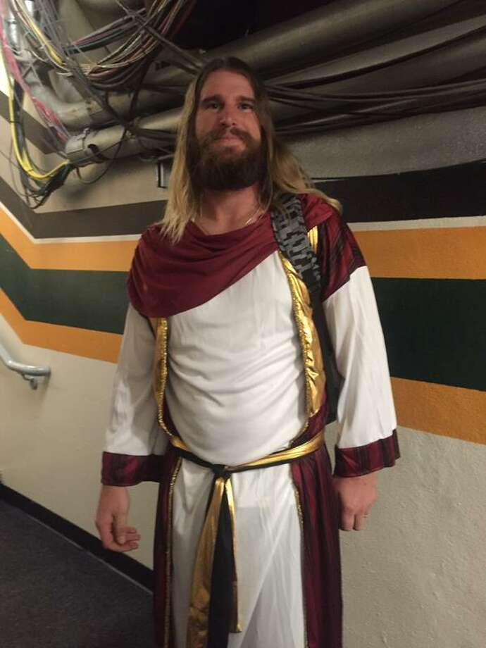 Bryan Anderson is one seriously great Jesus. Photo: Susan Slusser, The Chronicle