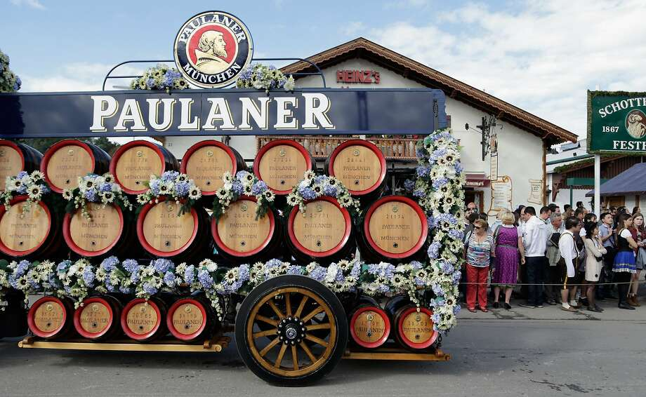 The Paulaner horse coach participates in the opening parade of  the first day of the 2015 Oktoberfest Munich, Germany.More: Photos of Oktoberfest back in the day Photo: Johannes Simon, Getty Images