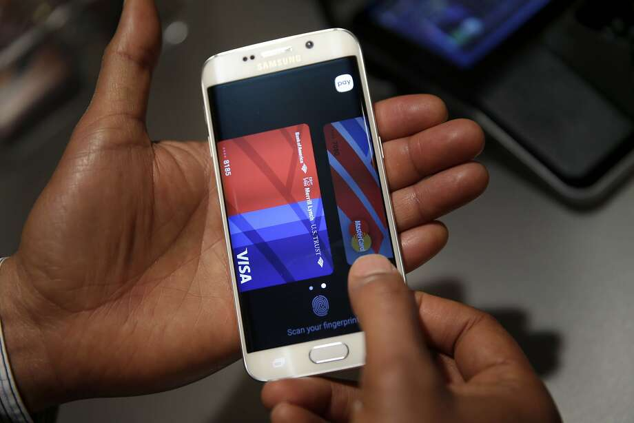 To use Samsung Pay, you must have a credit card, a Samsung phone and service with a major carrier. Photo: Seth Wenig, Associated Press