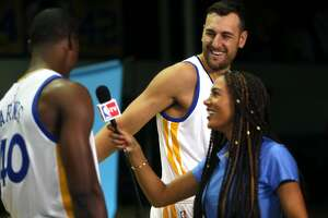 Warriors beat: Bogut trumpets Jarryd Hayne's fame - Photo