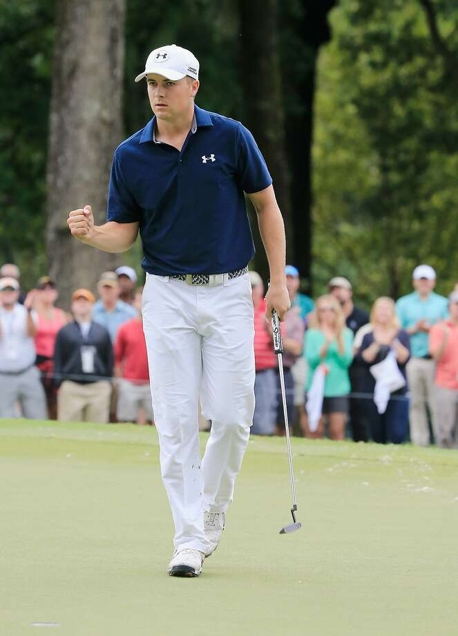 Jordan Spieth won two majors and earned more than $22 million this year. Photo: Sam Greenwood, Getty Images