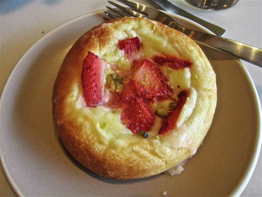 Strawberry Danish at Levure Bakery & Patisserie in The Woodlands. Photo: Alison Cook