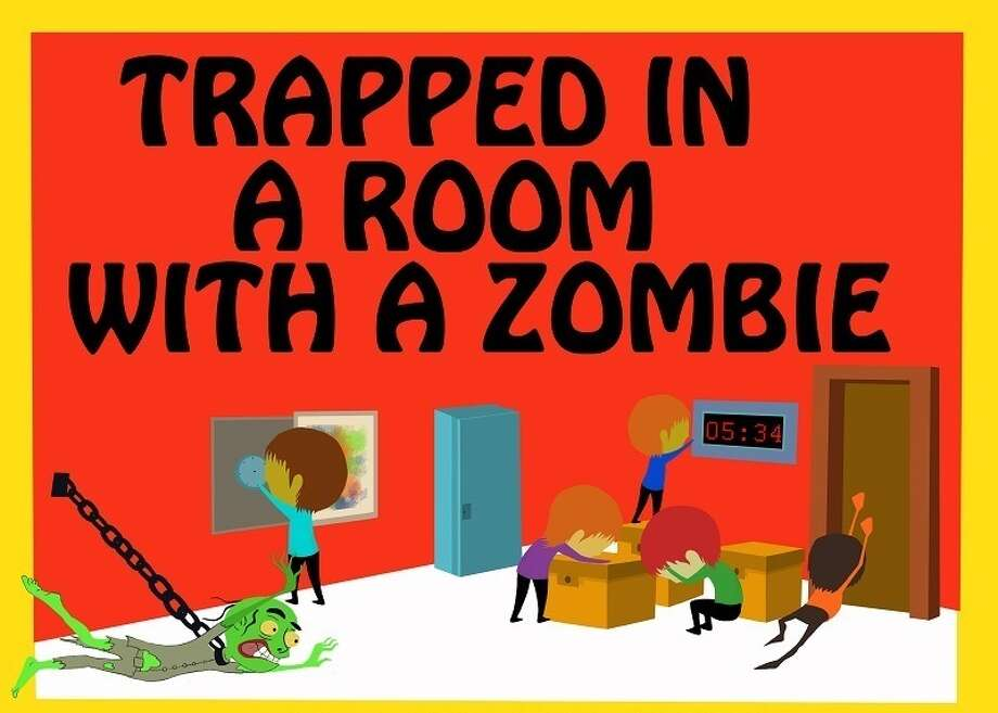 Trapped In A Room With A Zombie Photo: Courtesy Photo, Room Escape Time