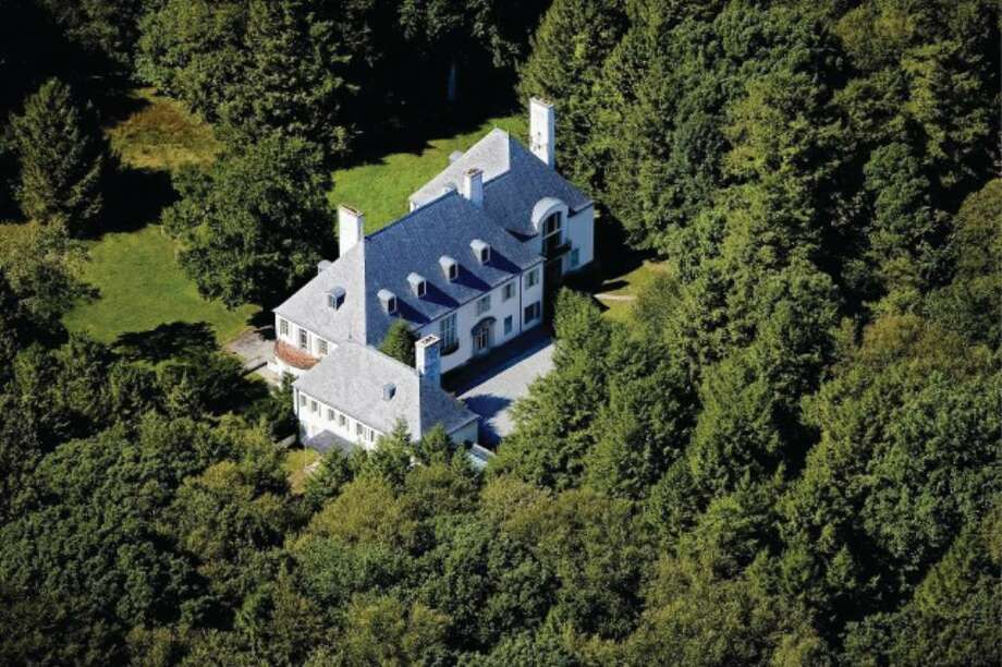 In 1952, Huguette Clark purchased Le Beau Chateau, a 22-room mansion that sits on 52 wooded acres at 104 Dans Highway in New Canaan. Now she's trying to sell the empty country home she never spent a night in for $24 million. Photo: Contributed Photo / New Canaan News