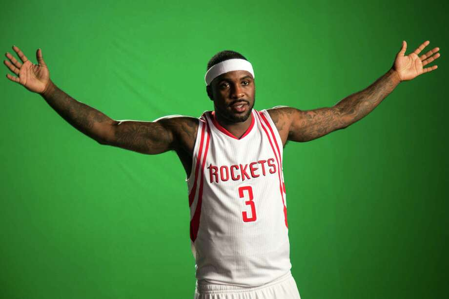 Houston Rockets guard Ty Lawson poses for a video shoot during Rockets Media Day at Toyota Center Monday, Sept. 28, 2015, in Houston. ( Brett Coomer / Houston Chronicle ) Photo: Brett Coomer, Staff / © 2015 Houston Chronicle