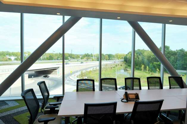 A view inside the office space of high-tech architectural and engineering firm DPS Engineering in the Zero Energy Nanotechnology (ZEN) building at the College of Nanoscale Science and Engineering at SUNY Polytechnic Institute, seen here on Monday, Sept. 28, 2015, in Albany, N.Y.  The company has chosen this location for their U.S. Advanced Technology Group headquarters.  They plan to create 56 new jobs with help from the STARTUP-NY tax-free program. The firm will occupy a 5,000 square foot space within the Zen Building. (Paul Buckowski / Times Union) Photo: PAUL BUCKOWSKI / 00033537A