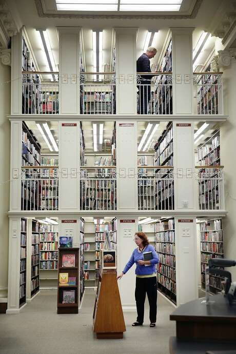 The Mechanics' Institute Library houses more than 160,000 volumes. Photo: Lea Suzuki, The Chronicle