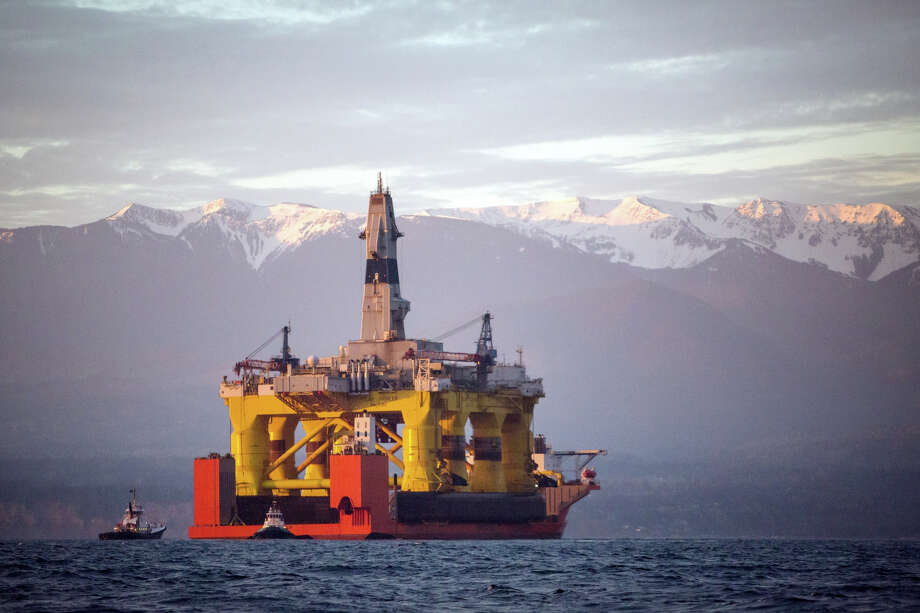 Shell is keeping its leases north of Alaska, even though it abandoned its most recent quest for oil in the Arctic after the Polar Pioneer, above, drilled a dry well. Photo: Daniella Beccaria, MBO / seattlepi.com