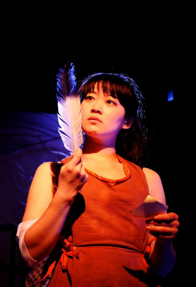 "Monica Ho as the mysterious Sadako in Ferocious Lotus' ""Crane."" Photo: Adam Tolbert"