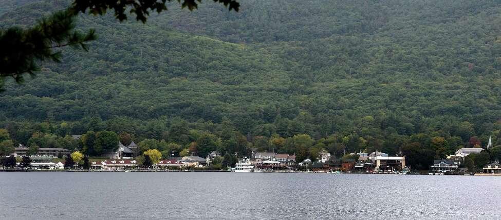 Lake George village. (Skip Dickstein/Times Union)