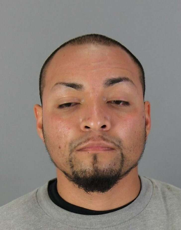 Jose Arroyo Molina, 25, of Half Moon Bay, was arrested on suspicion of committing lewd acts with a minor and possession of obscene material involving a minor in Hayward the evening of Sunday, Sept, 27, 2015. Photo: Courtesy, San Mateo County Sheriff