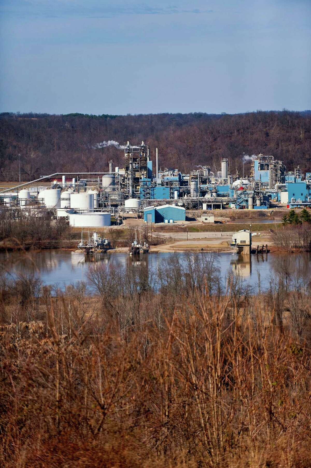 Kraton Performance Polymers, which operates this plant in Ohio, will more than double its size with the purchase of Arizona Chemical. (Kraton Performance Polymers photo)