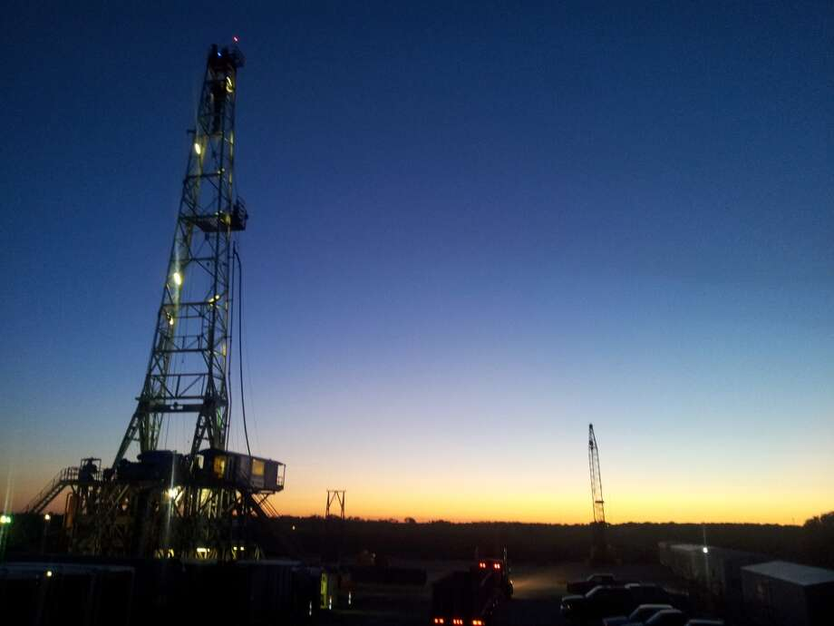 Production in the west texas shale region