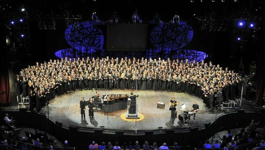 The 2014 NAfME All-National Honor Ensembles Choir performs at the Grand Ole Opry House in Nashville, Tenn. Photo: Contributed / National Association For Music Education