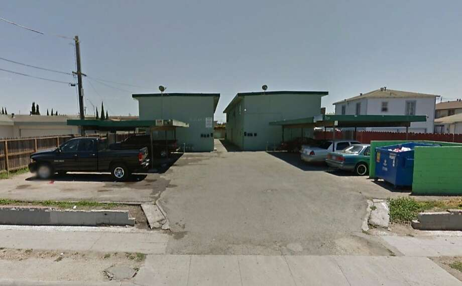 Three people were killed Monday night in a parking lot of a Salinas apartment, police said. Photo: Google Maps