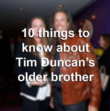 Click through the gallery to learn 10 things about Tim Duncan's brother. Photo: Jemal Countess, Photo Illustration / 2013 Getty Images