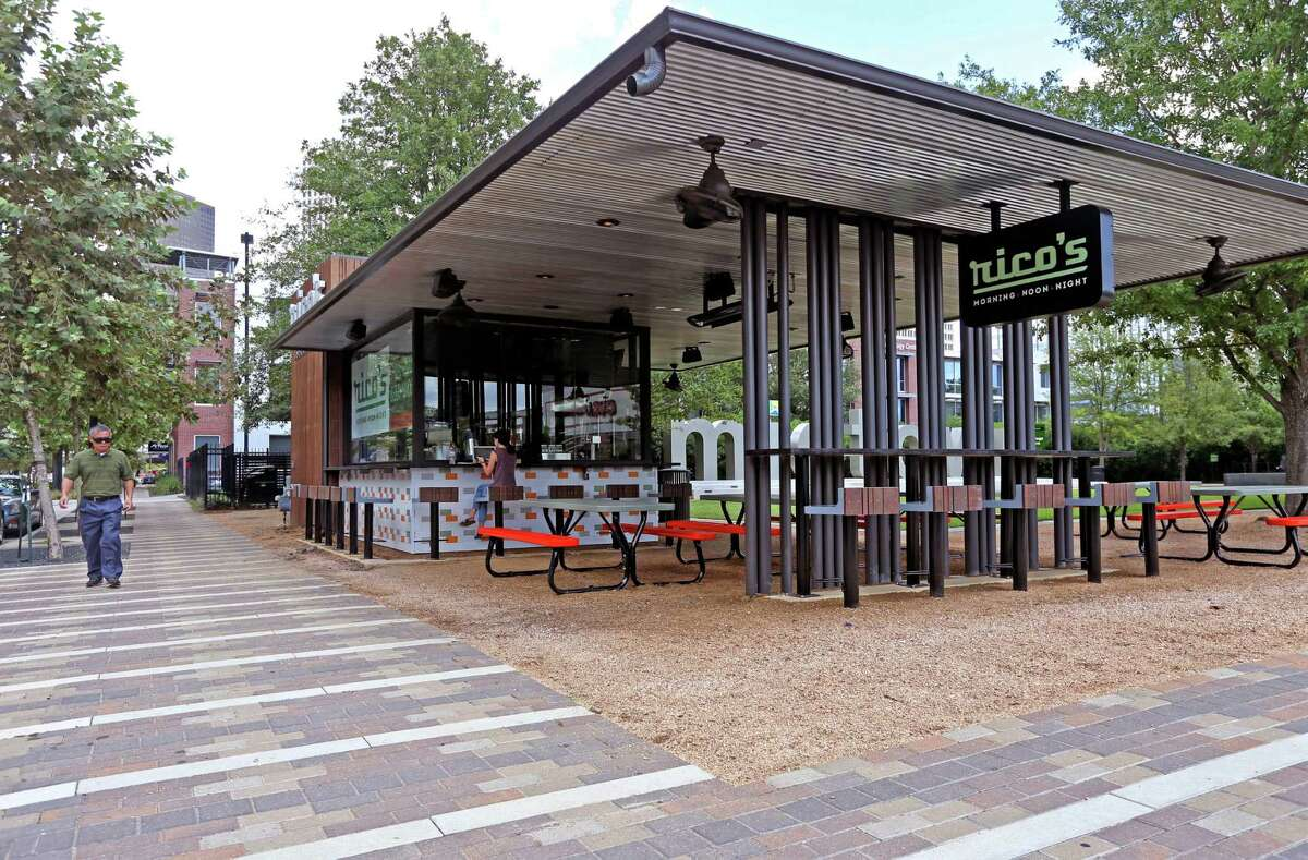 Rico's Morning & Noon Night opened in Bagby Park in Midtown in September 2015. It closed on Aug. 6, 2018.