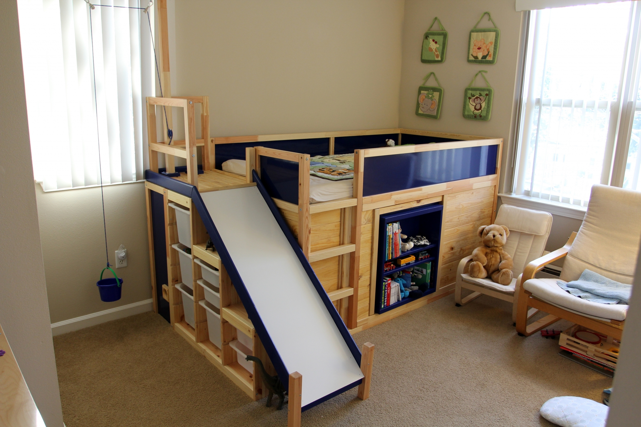 trademarks kids beds bed ikea modern wooden bunk design