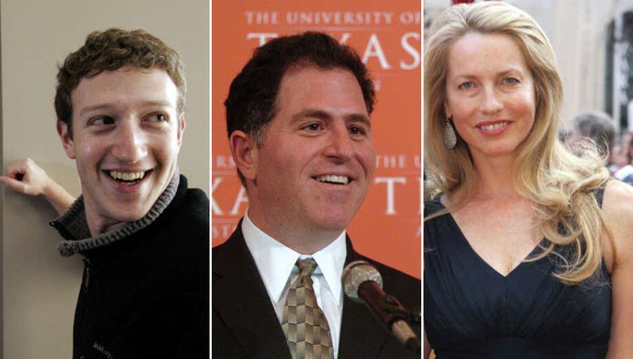 The 25 richest Americans on the Forbes 400The annual list of the wealthiest Americans came out Tuesday morning. Take a look at the 25 richest, how much they're worth and whether they inherited their money or were self-made billionaires. Click to see the list.Source:Forbes 400 Photo: File Photos