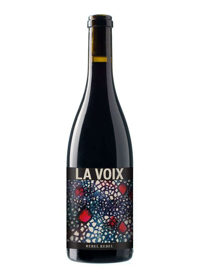 La Voix Rebel Rebel Pinot Noir. Photo: Andrew Schoneberger
