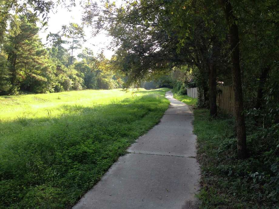 The Woodlands is stepping up its standards for maintaining the communityé­s parks and pathways after residents have complained about the poor condition and lack of upkeep in recent years. This segment of pathway runs along a creek between South Cypress Pine Drive and South Pather Creek.