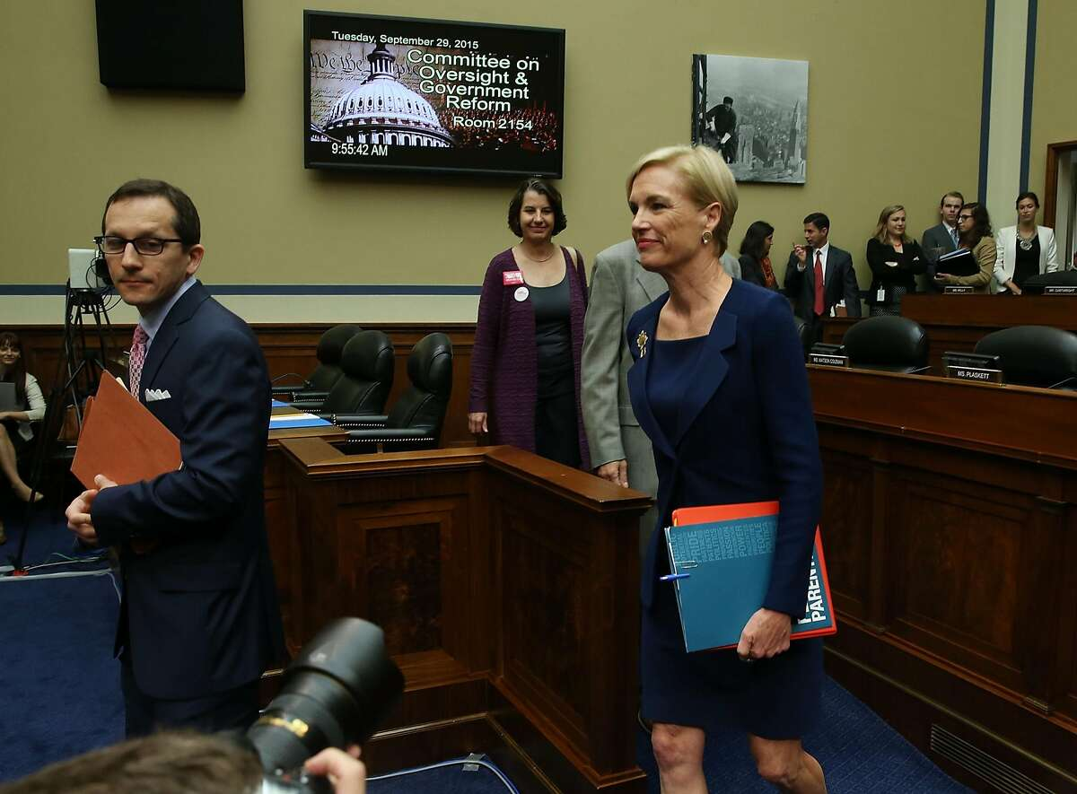 WASHINGTON, DC - SEPTEMBER 29: Cecile Richards, president of Planned Parenthood Federation of America Inc. arrives to testify during a House Oversight and Government Reform Committee hearing on Capitol Hill, September 29, 2015 in Washington, DC. The committee is hearing testimony on the use of taxpayer funding by Planned Parenthood and its affiliates. (Photo by Mark Wilson/Getty Images)
