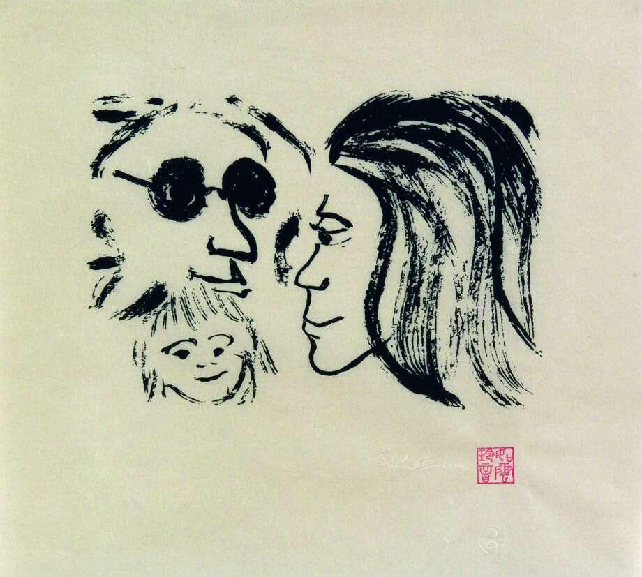 PHOTOS: Imagine Peace - Drawings by John Lennon Photo: John Lennon, Copyright © Yoko Ono.