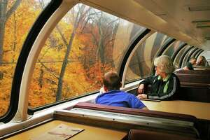 Amtrak's Great Dome Car returns to the Northeast for fall foliage runs - Photo